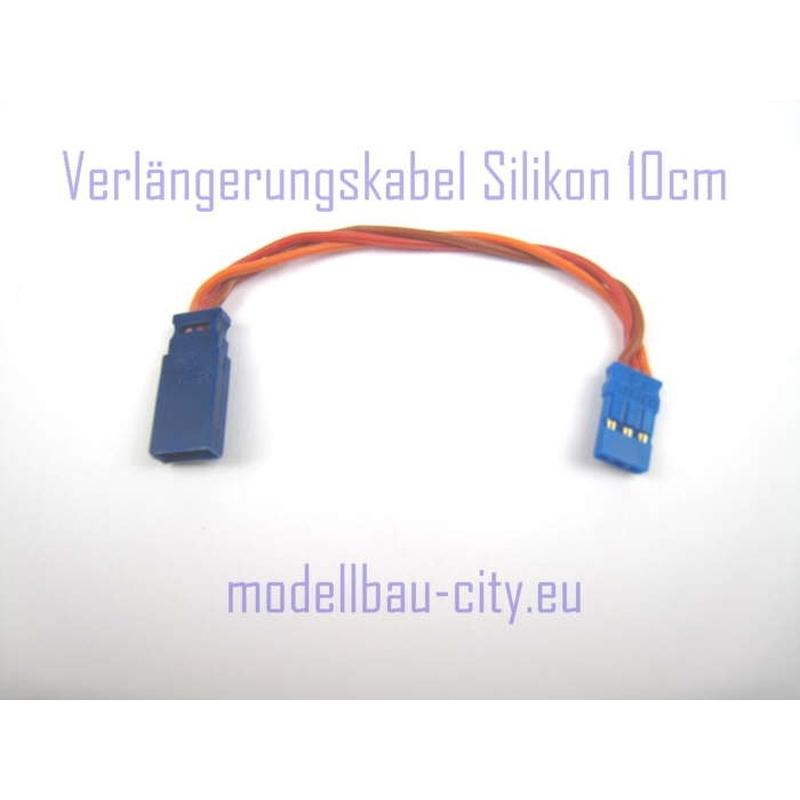 Muldental Servokabel 10cm 3 x 0,35qmm 59271