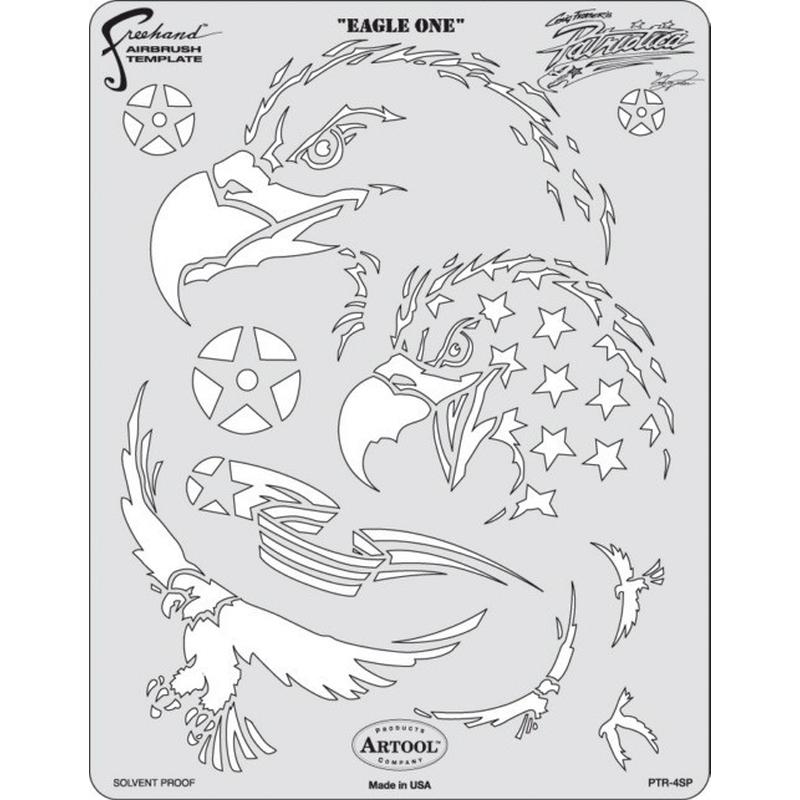 artool - Eagle one - Schablone Patriotica 200 319