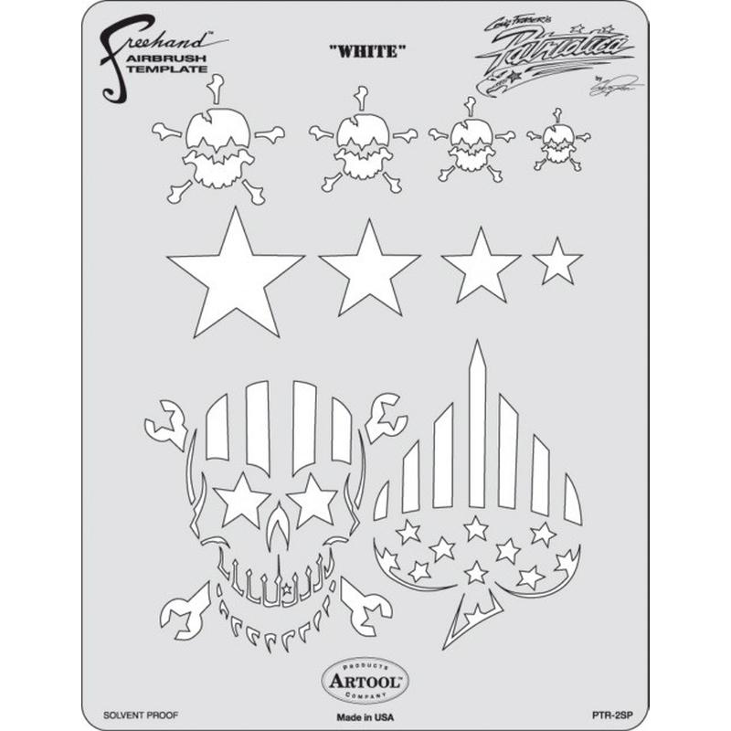 artool - White - Schablone Patriotica 200 317