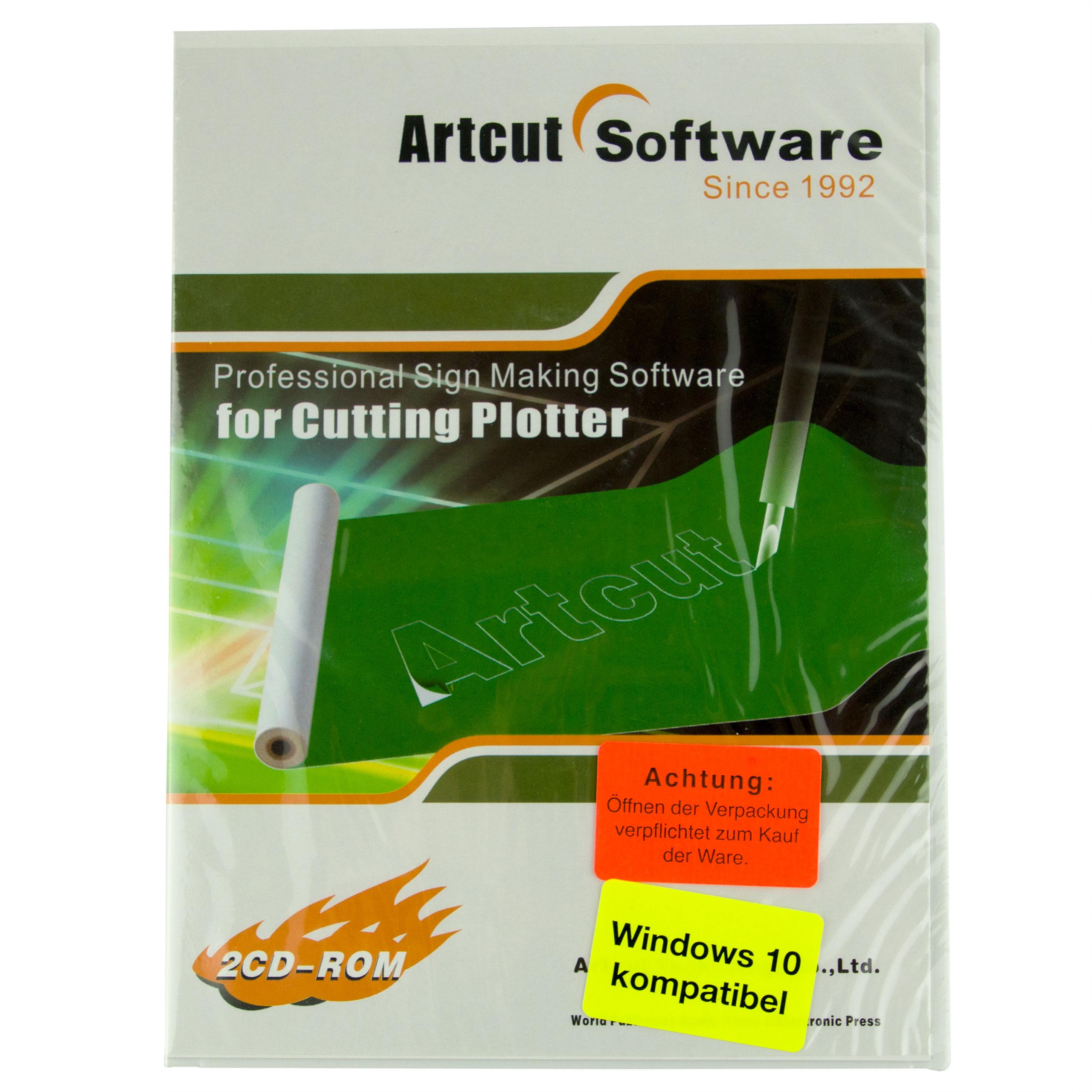 Artcut Professional Sign Making Software für Cutting Plotter Schneideplotter
