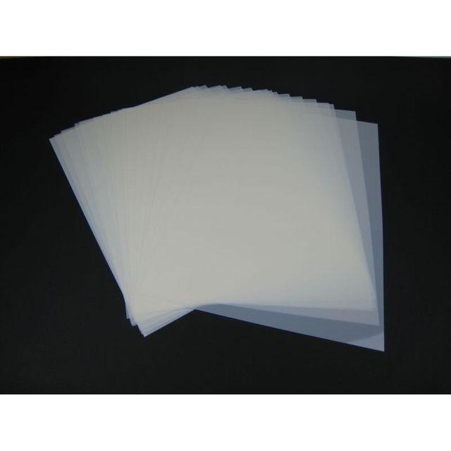 Mylar Schablonen Material 50 Stück DIN A4 Folie Mylarfolie