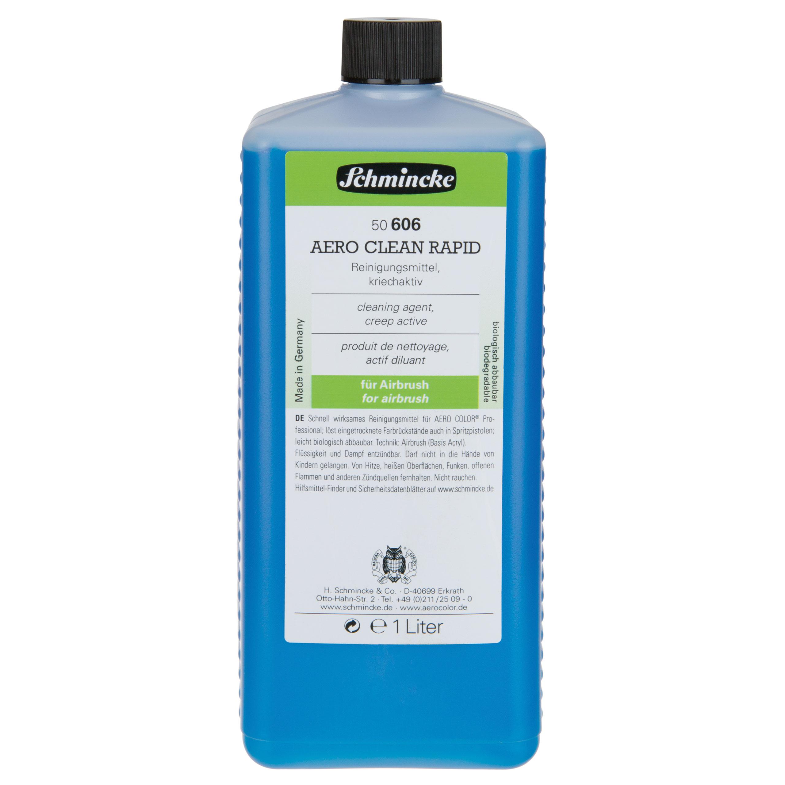 Aero Clean Rapid - 1000ml Reinigungsmittel für AERO COLOR Schmincke 50 606 029