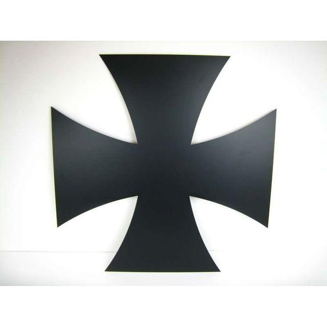 Eisernes Kreuz, beidseitig mattschwarz lackiert 170205