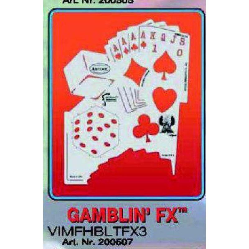 artool - GAMBLIN FX Airbrush Schablone 200 507
