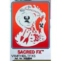 artool - SACRED FX Airbrush Schablone 200 509 001