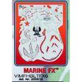 artool - MARINE FX  Airbrush Schablone 200 510