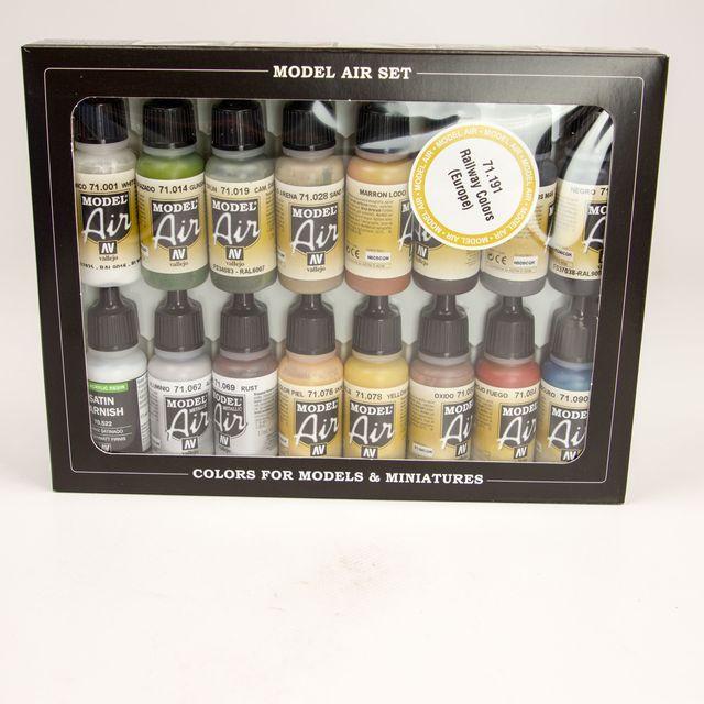 Model Air  Bahnfarben Set 100 511 Airbrush Farbe
