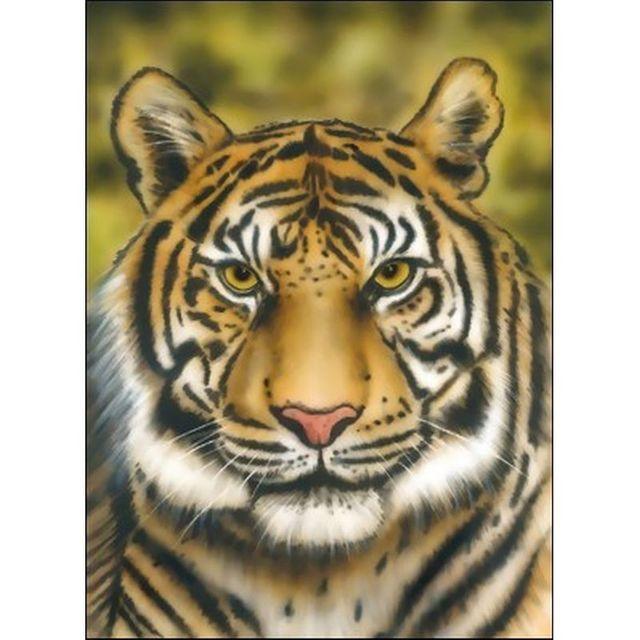 Hansa Airbrush Schablone - Tiger Wildlife 410130