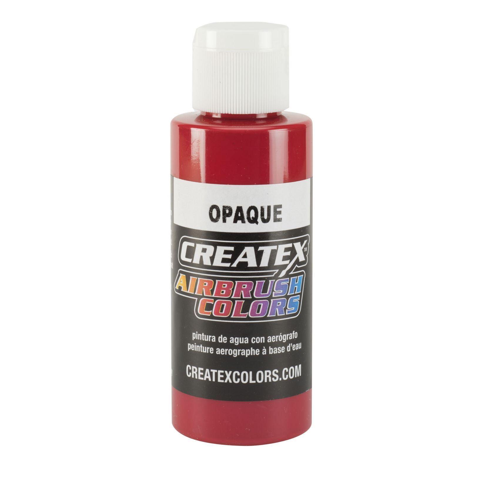 opaque red Createx Airbrush Colors Farbe 120ml 12 5210 Createx