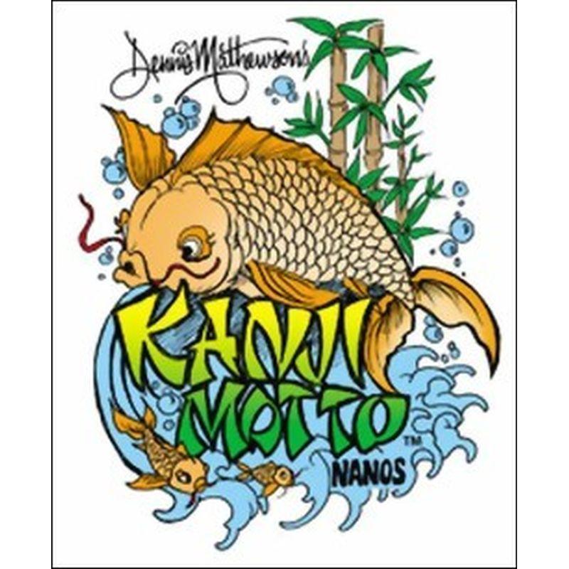 """artool - Nano-Schablone """"Kanji Motto"""" 200 490"""