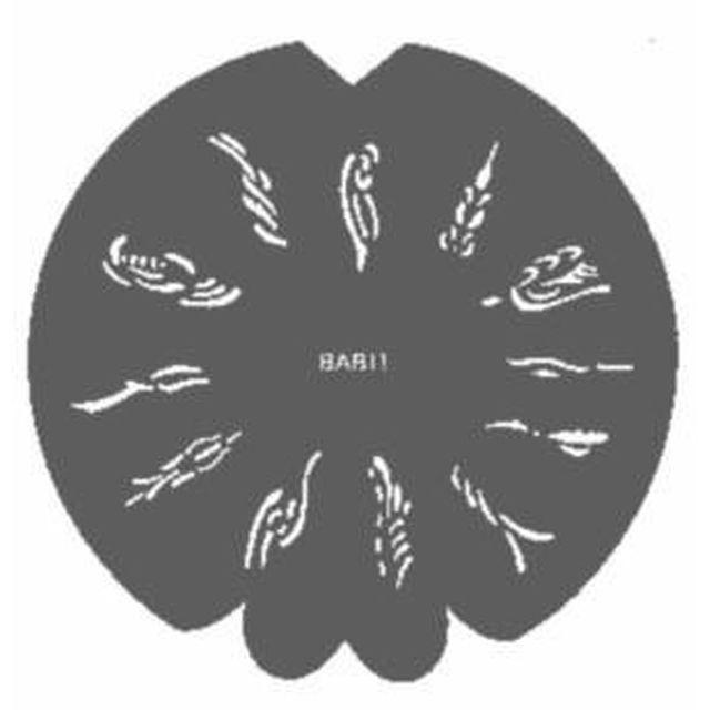 Swirls ( Strudel ), Airbrush-Schablone 600 913 (BAB13)