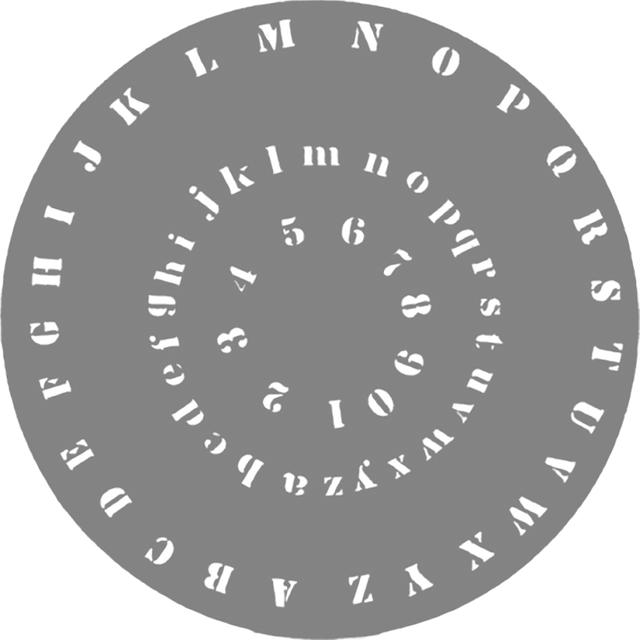 Airbrush-Schablone Buchstaben + Zahlen 262 617