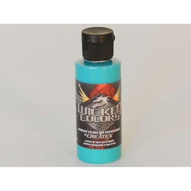 Createx Wicked W019 Aqua 60ml Fluoreszierend Airbrush Farbe