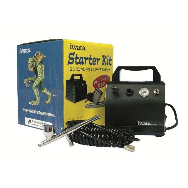 iwata  Airbrush Starter Kit mit Iwata HP-CR Revolution 200 008 – Bild 1