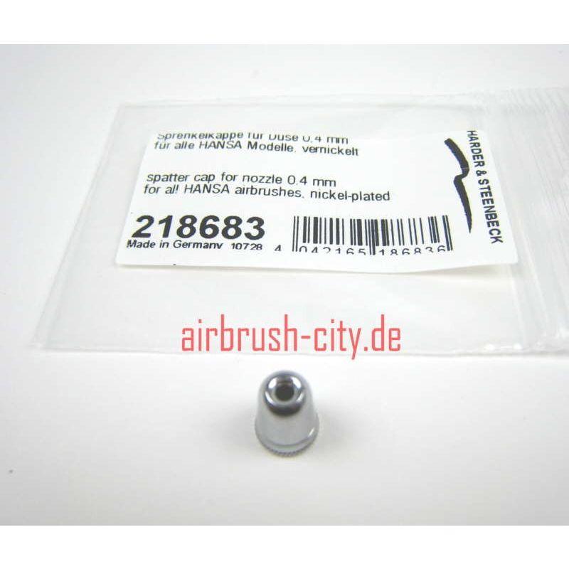 Luftkopf / Sprenkelkappe für Düse 0,4mm Nr.218683