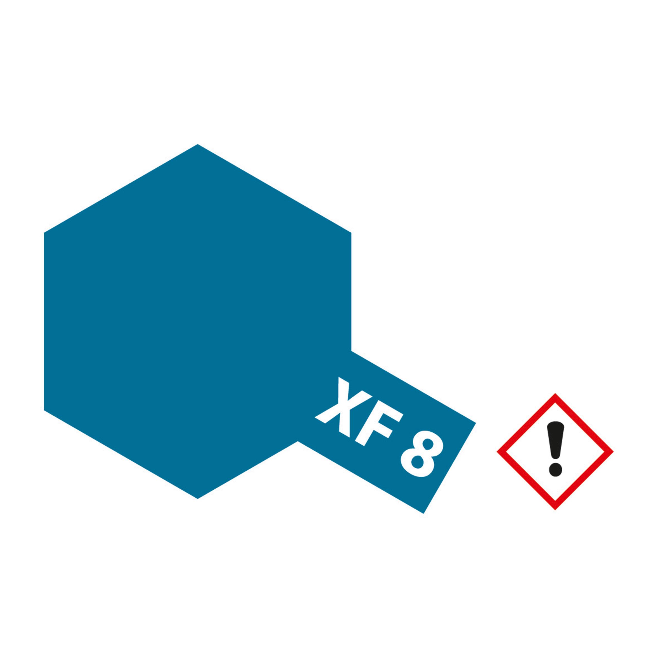 XF-8 Blau matt - 23ml Acrylstreichfarbe wasserloeslich Tamiya 300081308