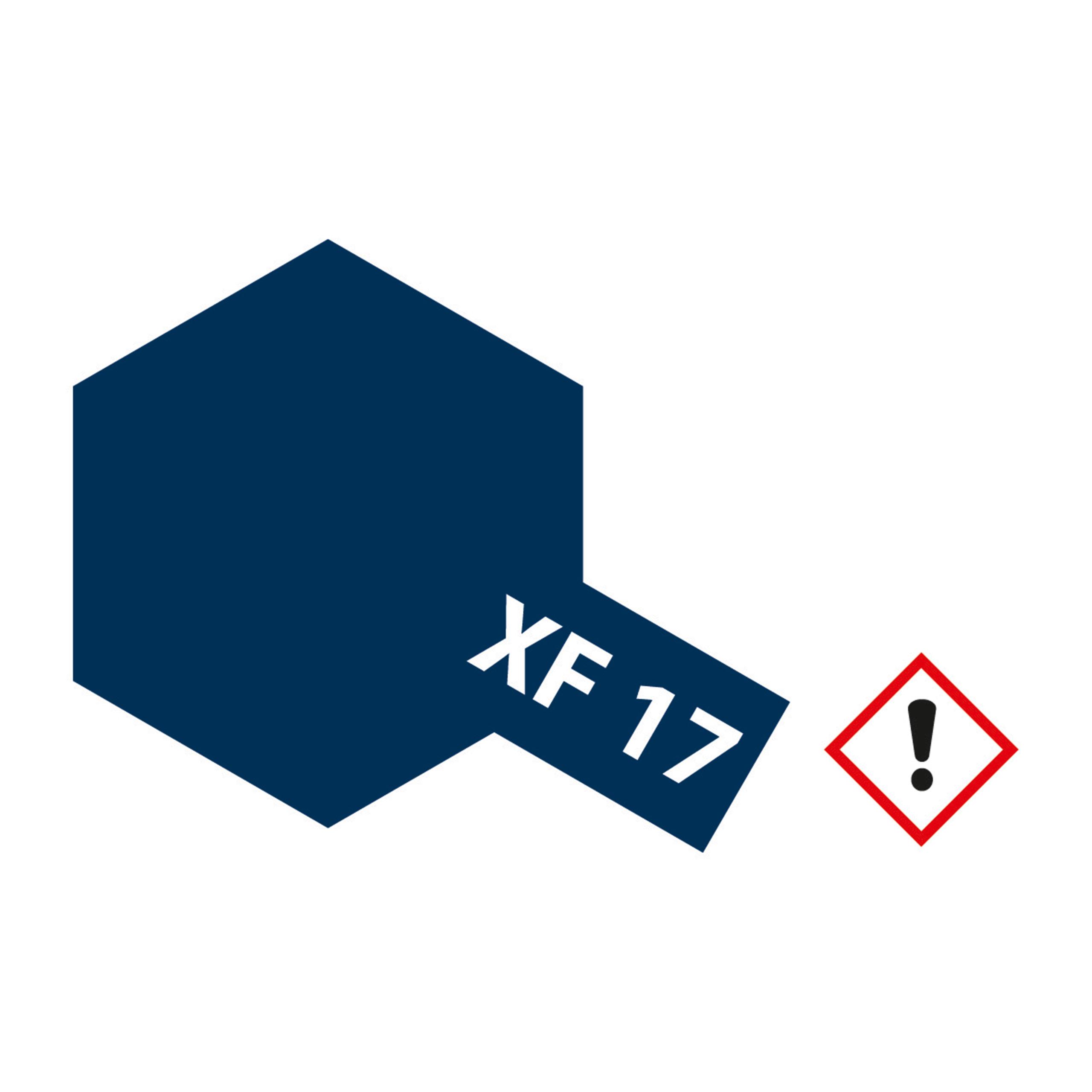 XF-17 Seeblau matt - 23ml Acrylstreichfarbe wasserloeslich Tamiya 300081317