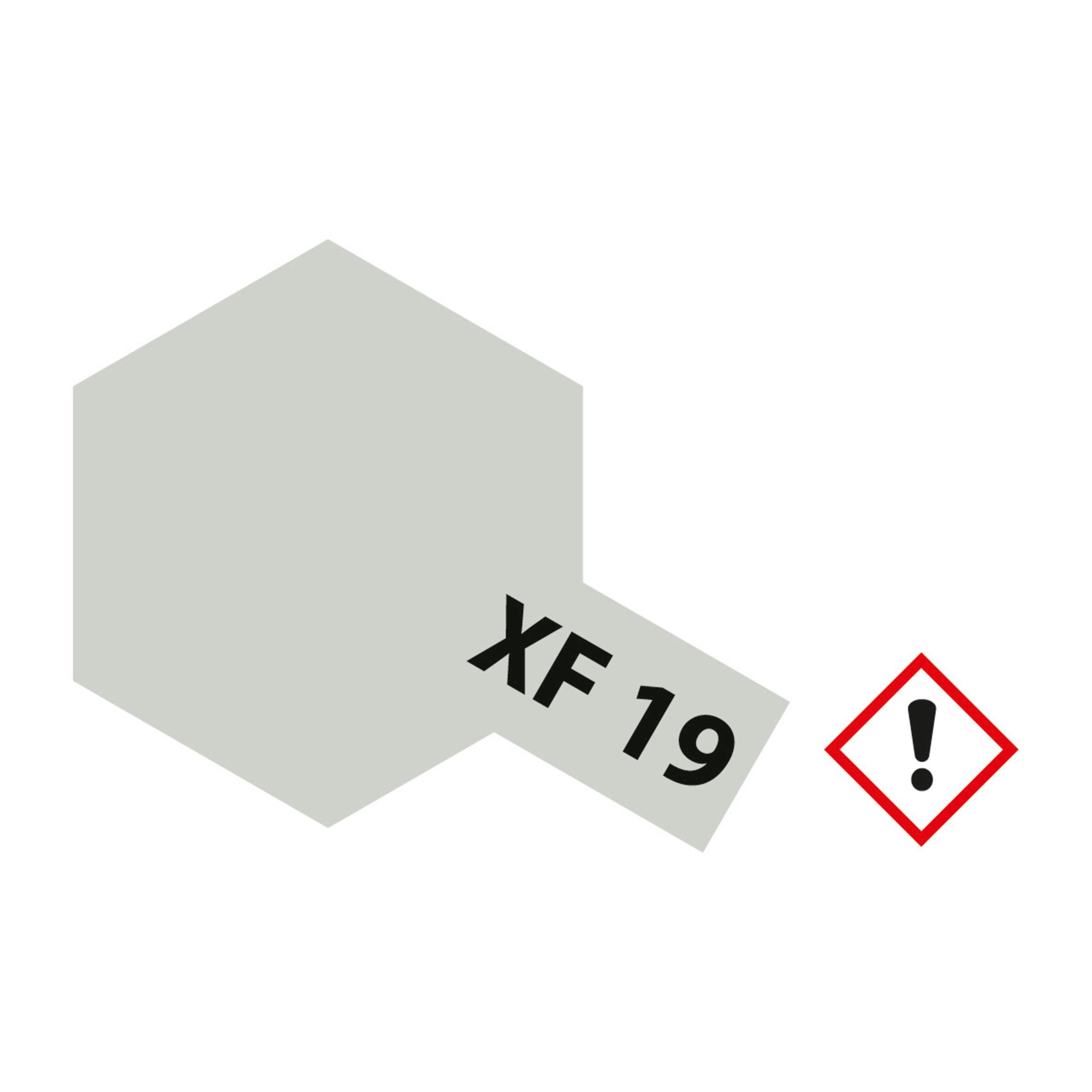 XF-19 Himmelgrau matt - 23ml Acrylstreichfarbe wasserloeslich Tamiya 300081319