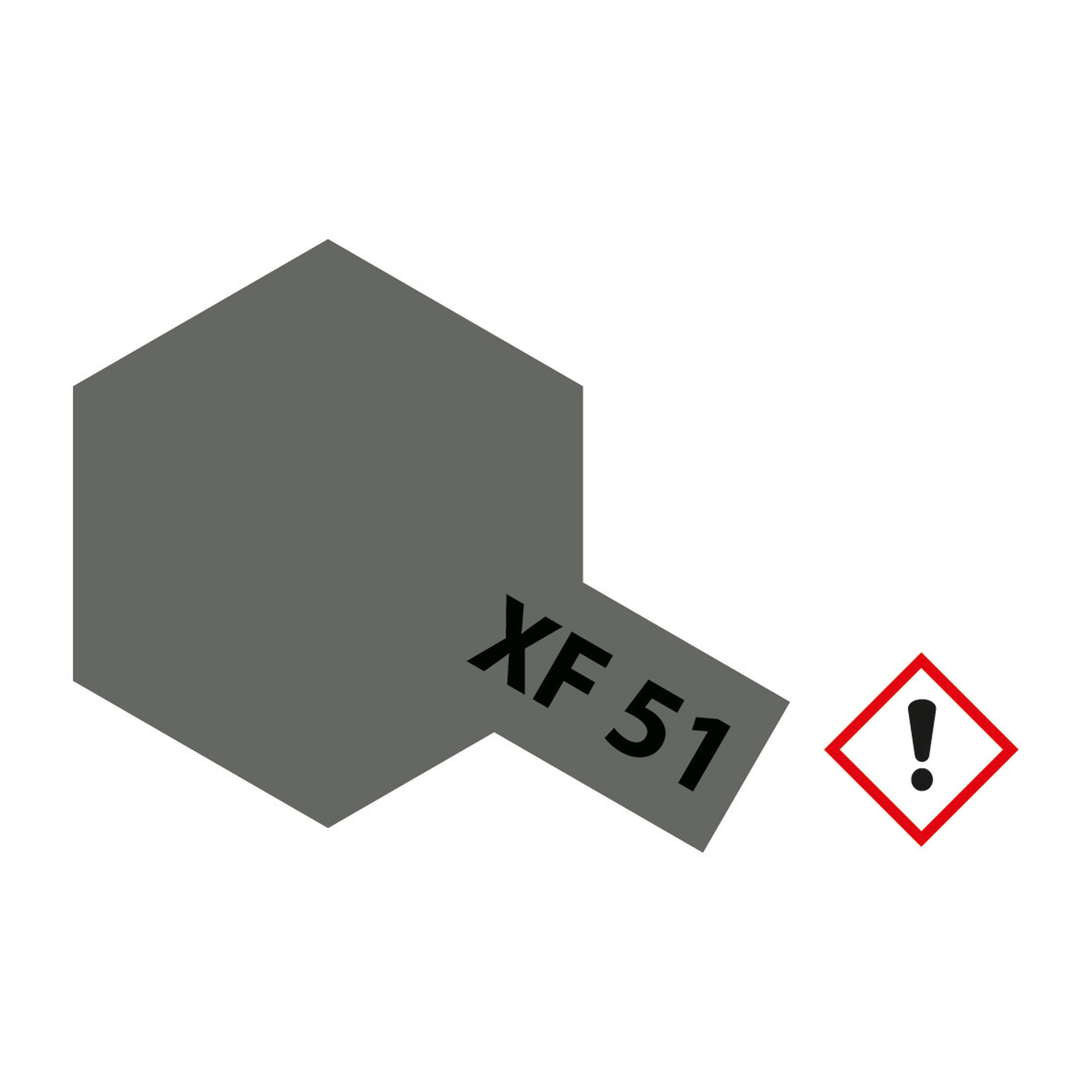 XF-51 Khaki Drab matt - 23ml Acrylstreichfarbe wasserloeslich Tamiya 300081351