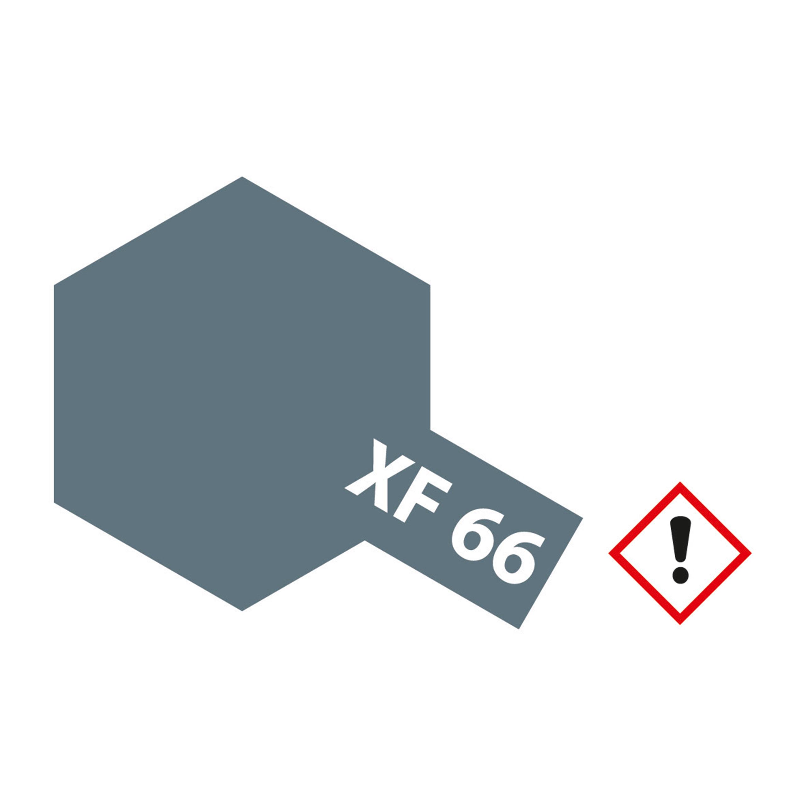 XF-66 Hellgrau matt - 23ml Acrylstreichfarbe wasserloeslich Tamiya 300081366