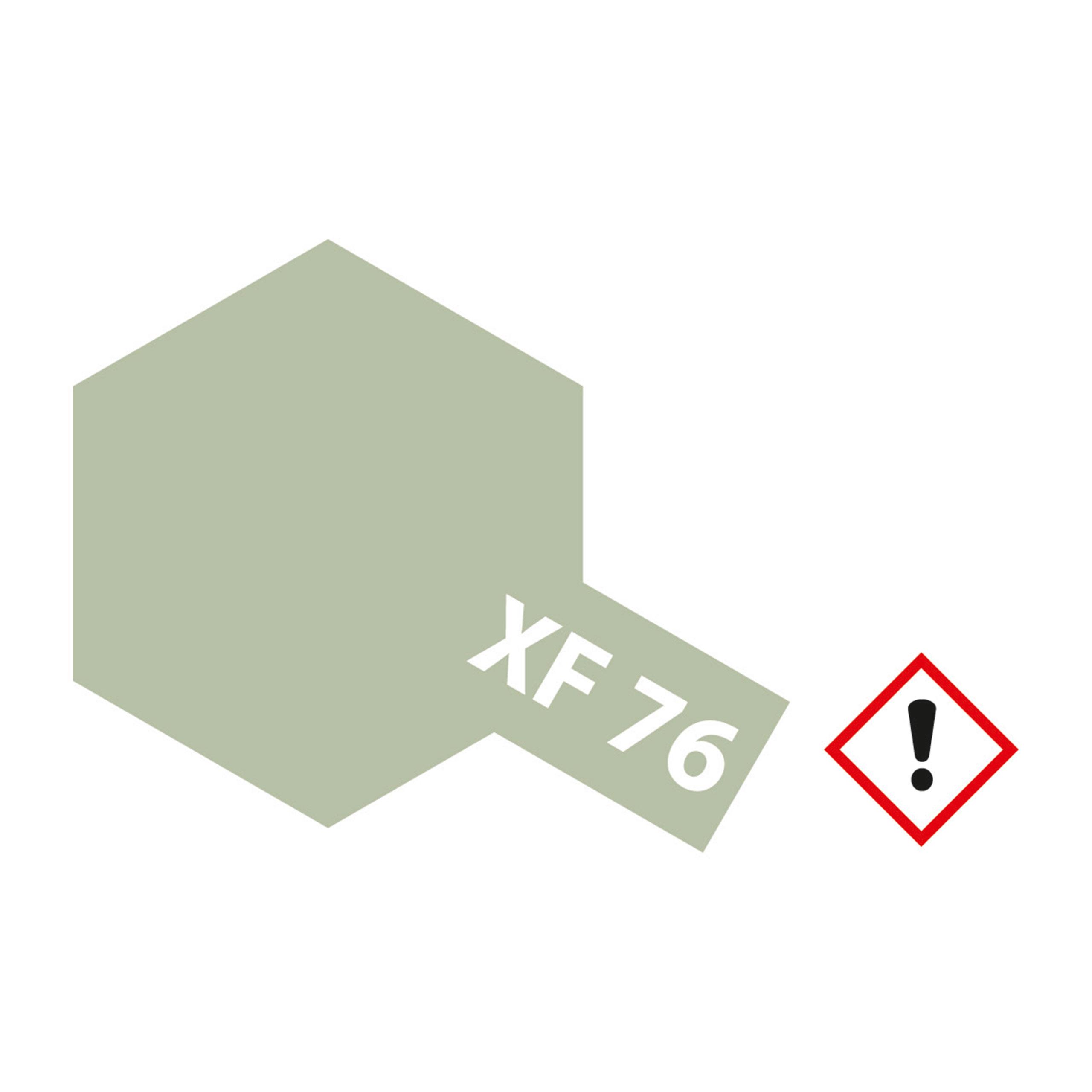 XF-76 IJN Grau Gruen matt - 10ml Acrylstreichfarbe wasserloeslich Tamiya 300081776