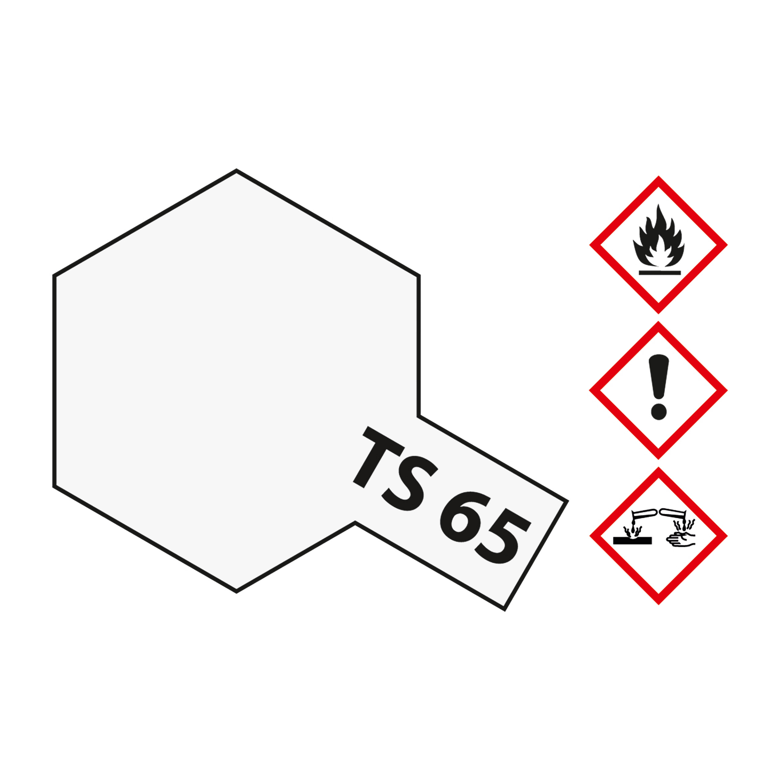 TS-65 Perleffekt Klarlack glaenzend - 100ml Sprayfarbe Kunstharz Tamiya 300085065