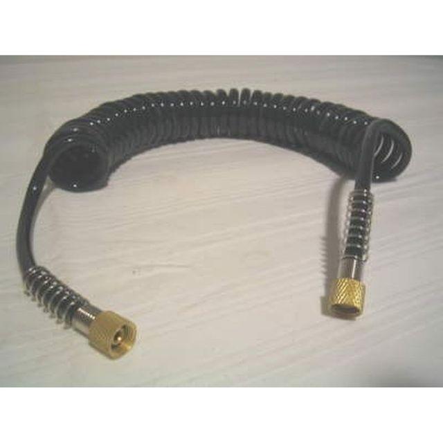 PU-Luftschlauch 3 Meter G1/8 - G1/8 Spiralschlauch