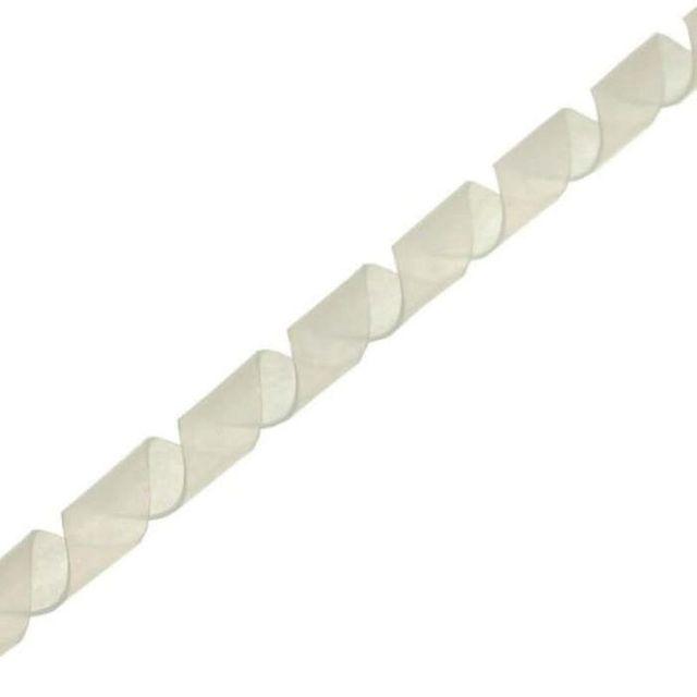 Spiralband Kabelschlauch 10 mm 10 m weiss Spiralschlauch 59947L