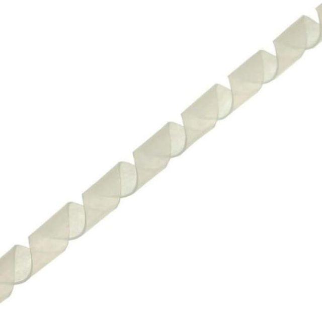 Spiralband Kabelschlauch 14 mm 10 m weiss Spiralschlauch 59947N