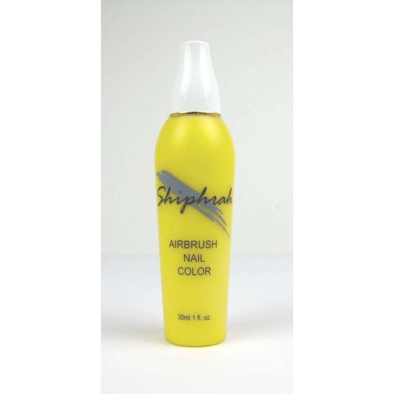 Airbrushfarbe YELLOW Airbrush Nail Color SN04 gelb