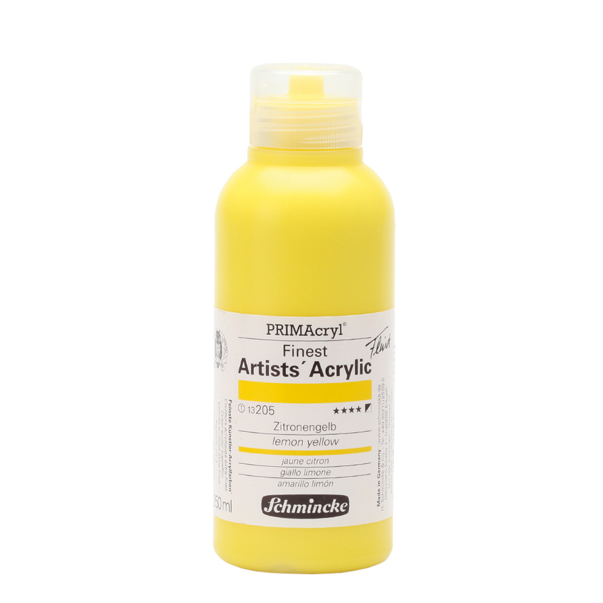 Schmincke 250ml PRIMAcryl Zitronengelb Acryl 13 205 027
