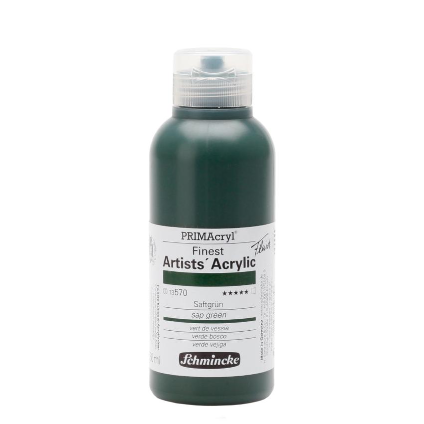 Schmincke 250ml PRIMAcryl Saftgruen Acryl 13 570 027