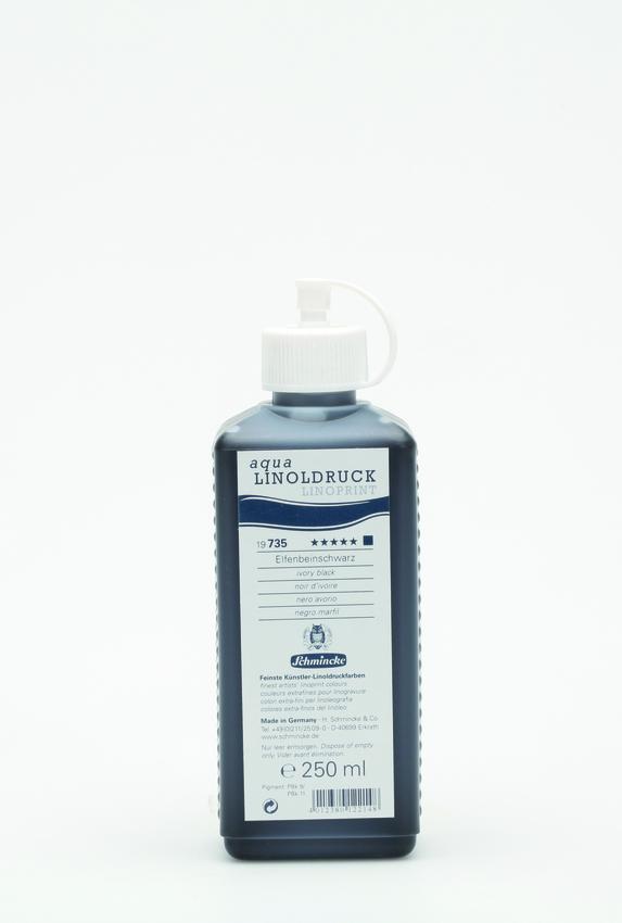 Schmincke 250ml Linoldruck Elfenbeinschwarz Linol 19 735 027