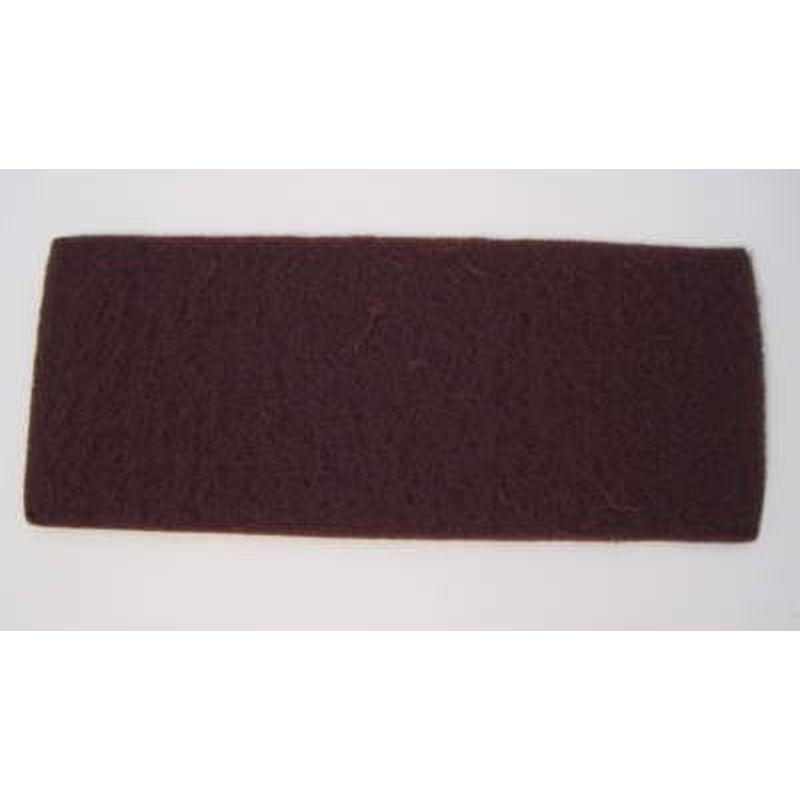 Schleifvlies Pad 115x280mm fein ( rot) 5 Stück