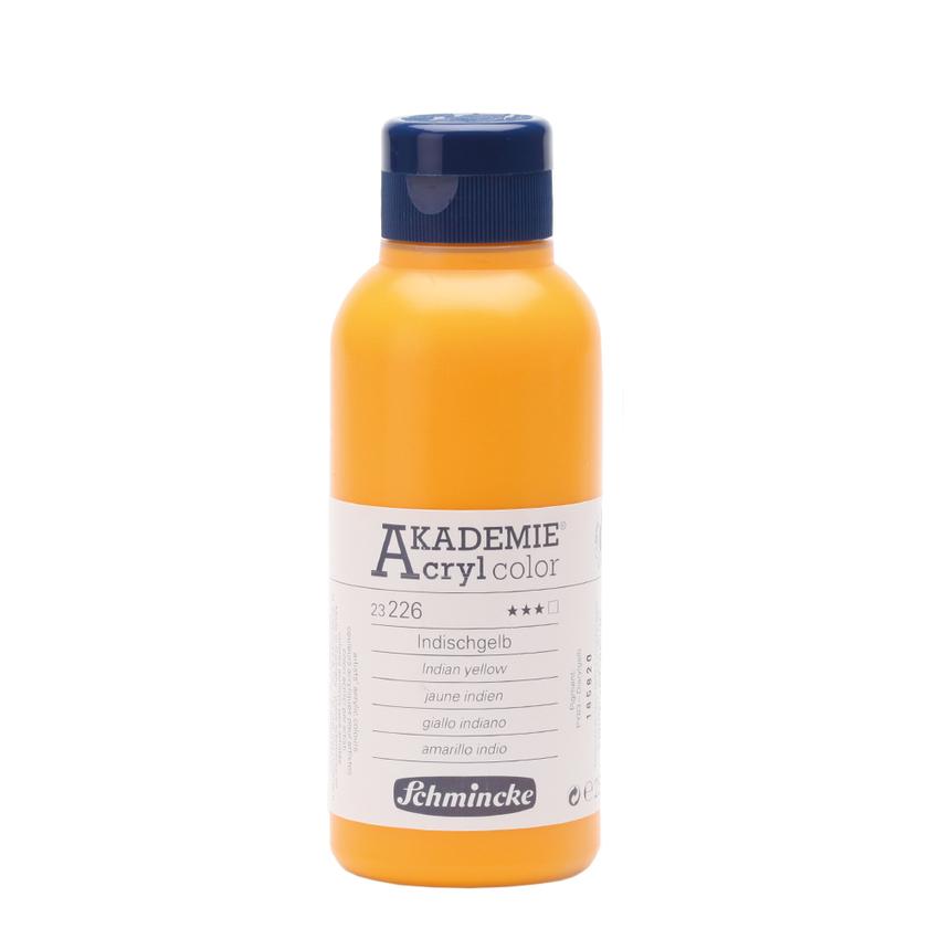 Indischgelb 250ml Acrylfarbe - AKADEMIE Acryl - Schmincke 23 226 027