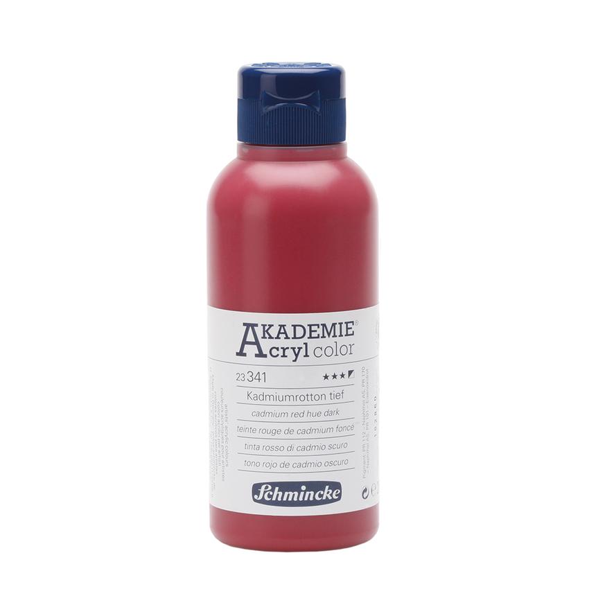 Kadmiumrotton tief 250ml Acrylfarbe - AKADEMIE Acryl - Schmincke 23 341 027