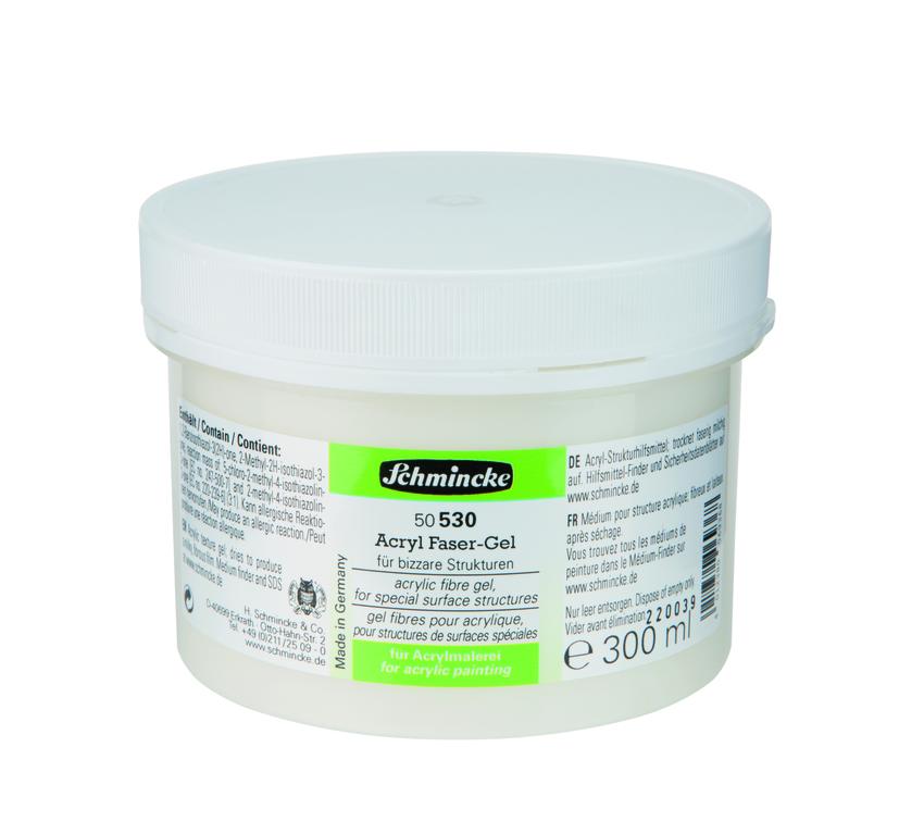 Schmincke 250ml Hilfsmittel Faser-Gel Acryl 50 530 048 ***