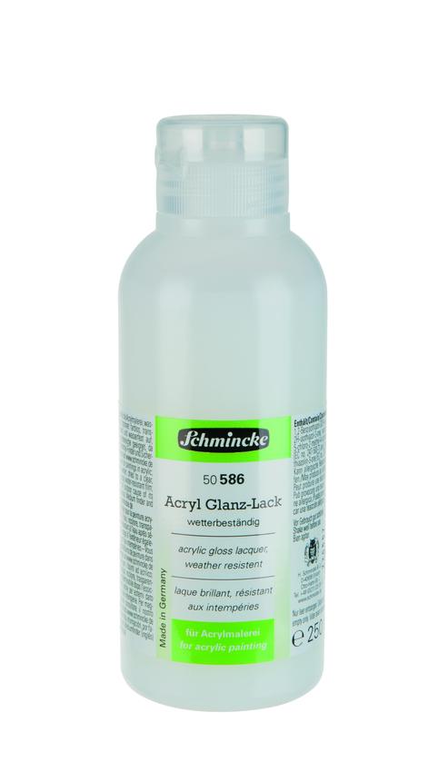 Schmincke 250ml Hilfsmittel Glanz-Lack Acryl 50 586 027