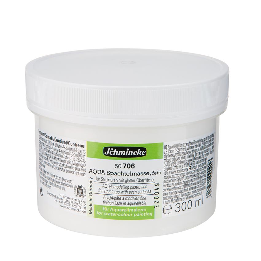 Schmincke 250ml Hilfsmittel AQUA-Spachtelmasse fein Aquarell 50 706 048 ***