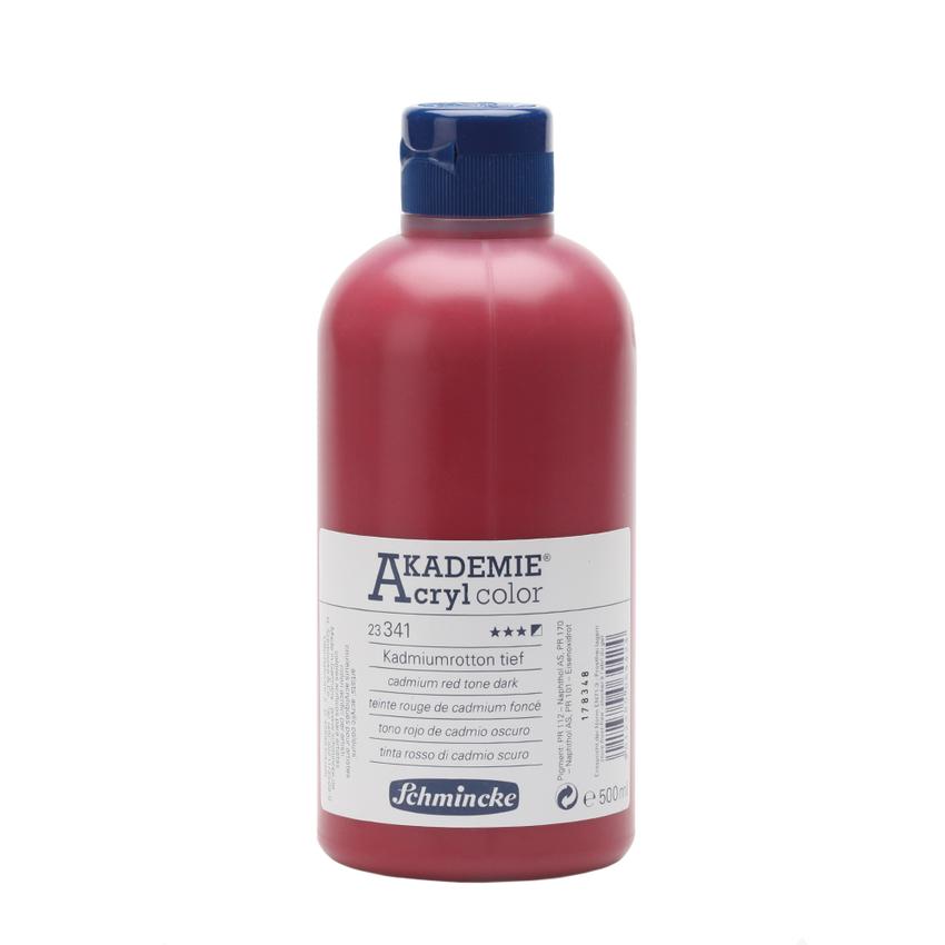 Kadmiumrotton tief 500ml Acrylfarbe - AKADEMIE Acryl - Schmincke 23 341 028