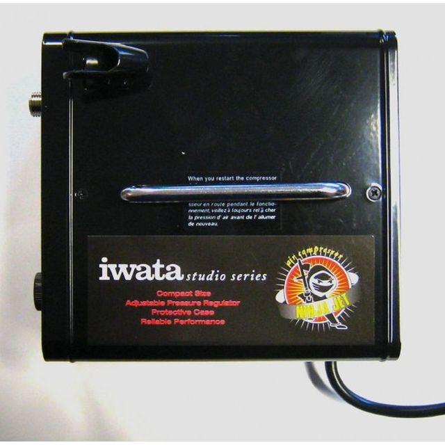 iwata IS-35 Ninja Jet  Airbrush Kompressor – Bild 3