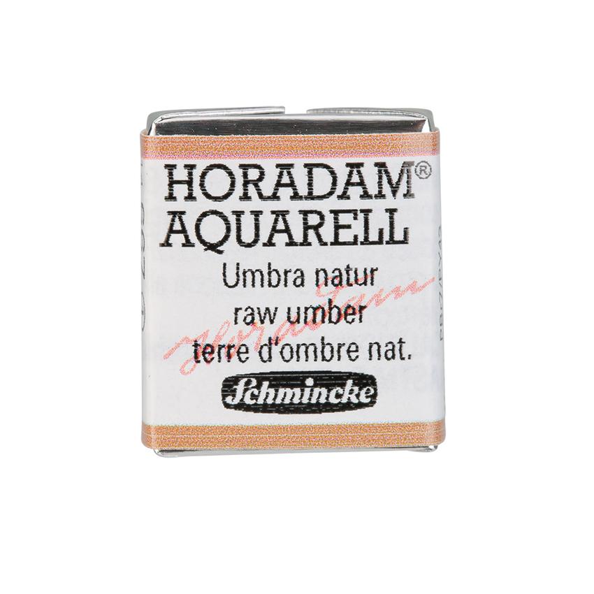 Schmincke HORADAM Aquarell Umbra Natur Aquarell 14 667 044 1/2 Naepfchen