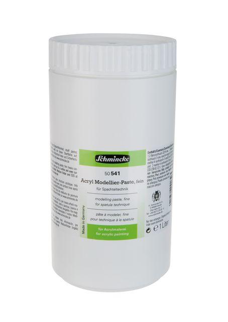 Schmincke 1000ml Hilfsmittel Modellier-Paste fein Acryl 50 541 051