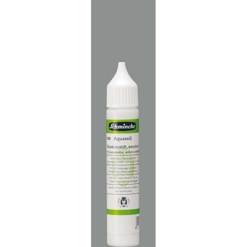 Schmincke 25ml Hilfsmittel Maskierstift neutral Aquarell 50 730 005