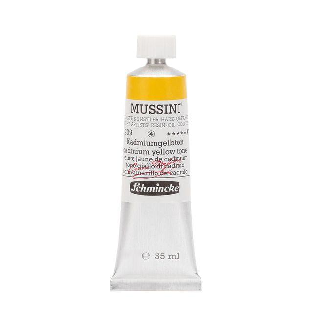 Schmincke 35ml MUSSINI Kadmiumgelbton Öl 10 209 009