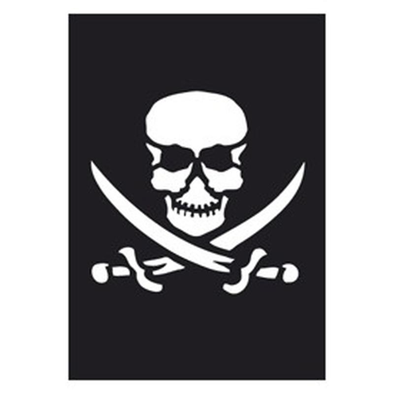 Tattoo Schablone Pirat 263 023