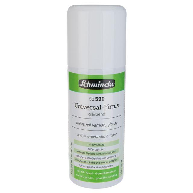 Universal-Firnis glaenzend - 150ml AEROSPRAY Acryl Hilfsmittel Schmincke 50 590 052