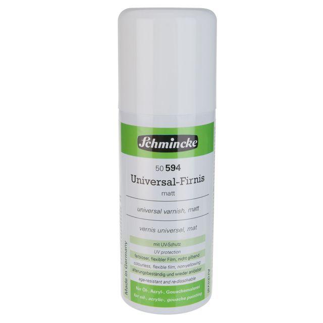 Universal-Firnis matt - 150ml AEROSPRAY Acryl Hilfsmittel Schmincke 50 594 052