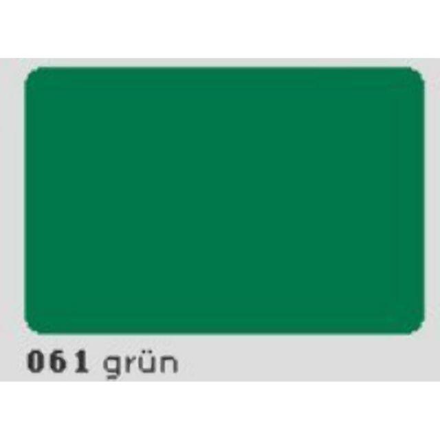 Oracal 651 Plotterfolie 63cm x 5m grün 061