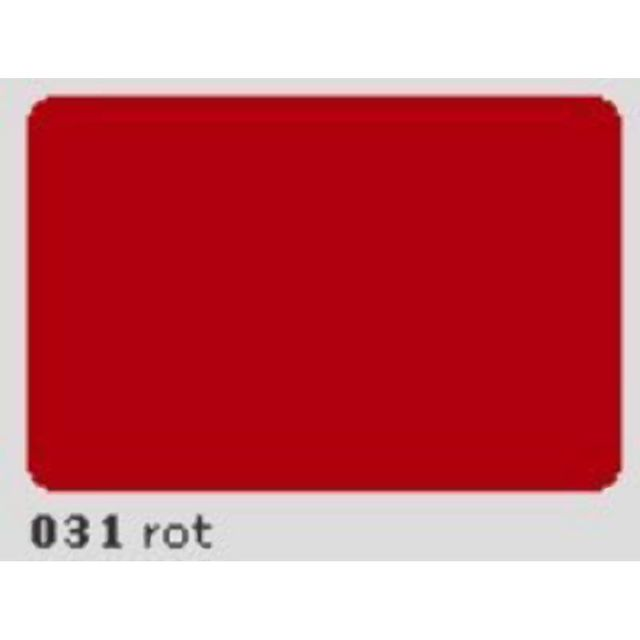 Oracal 651 Plotterfolie 63cm x 5m rot 031